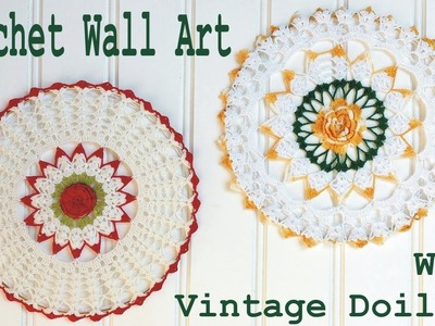 Crochet Vintage Doily Wall Art with Maggie Weldon - Left Handed