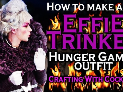 Disney Princess Hunger Games - DIY Effie Party Dress - Crafting With Cocktails (3.05)