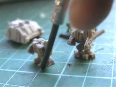 DIY 6mm wargame minis - first attempts