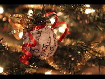 DIY: Christmas Ornaments ❄