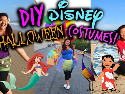 DIY Disney Halloween Costumes! Fast, Easy, & Cheap!