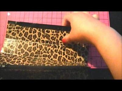 DIY Duct tape purse pt. 1