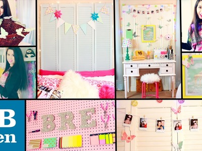 DIY PB Teen Inspired Room Decor! | Easy & Cheap Dollar Store DIYS! | Spice Up Your Boring Room!