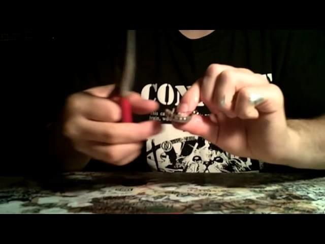 DIY punk buttons