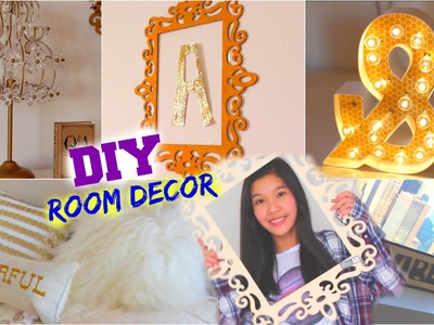 DIY Room Decor For Teens! Cheap & Easy Ideas !