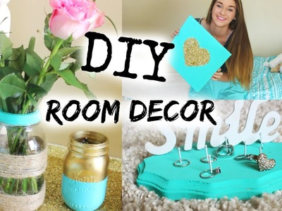 DIY Spring Tumblr Room Decor!