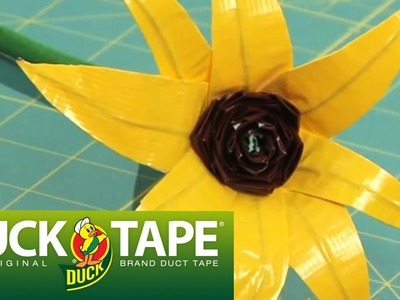 Duck Tape Craft Ideas: How to Make a Flower