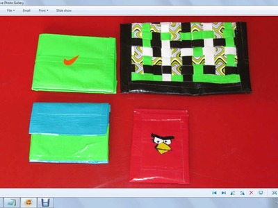 Duct Tape Wallet Giveaway Winner !!! (Duct Tape Crafts, Duct Tape Angry Birds, Duct Tape Contest)