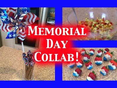 Fruit Salsa & Pinterest Inspired DIY Snacks | Memorial Day Collab!