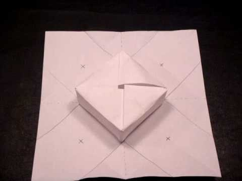 How to Make an Origami Gift Box (Intermediate)
