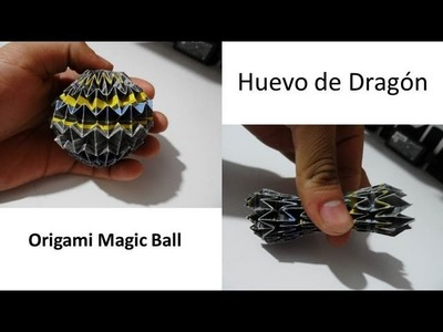 Huevo de Dragón (Magic Ball) Origami