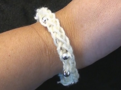 I-Cord Friendship Bracelet Crochet - Left Hand Crochet CrochetGeek