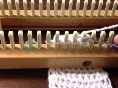 Loom Knitting: Decrease Figure 8 Stitch
