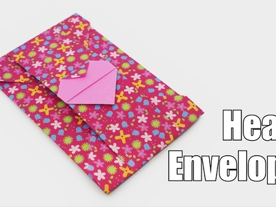 Origami Heart Envelope (Jo Nakashima) - Mother's Day