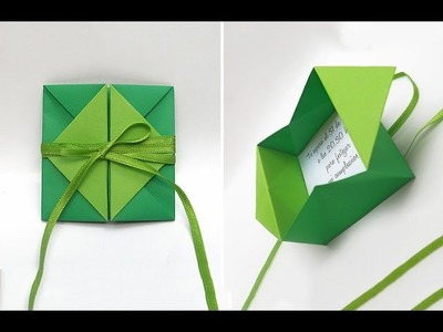 Rich and easy envelope. Great ideas for gift card. Sobre corazón. Ideas for Easter