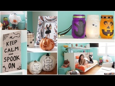 Roomspiration: 3 Easy DIY's + Decorating My Room for Halloween! | BeautyTakenIn