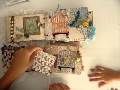 Scrapbooking Mariposa Mini Album