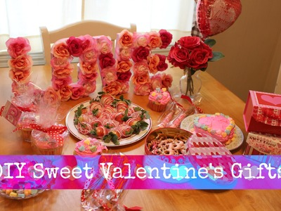 Sweet DIY Valentine's Gifts
