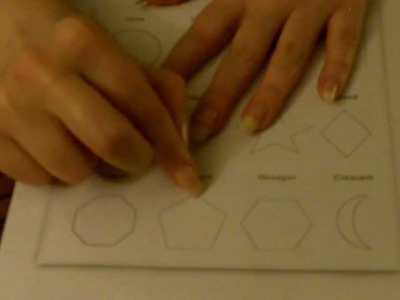 Tracing Test 1 - Finger Nail