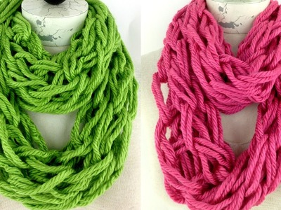 Arm Knit Scarf with Hometown USA