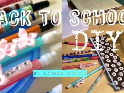 Back to School DIY | Pencils and Pencil Case