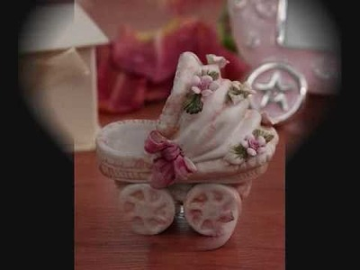 Capodimonte Pink Baby Favors by ExclusiveMoonlight.com