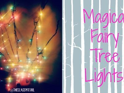 Christmas DIY Decor: Magical Fairy Lights !