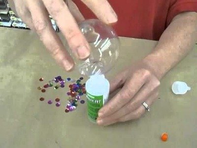 Crankin' Out Crafts -ep170 Sequin Ornament