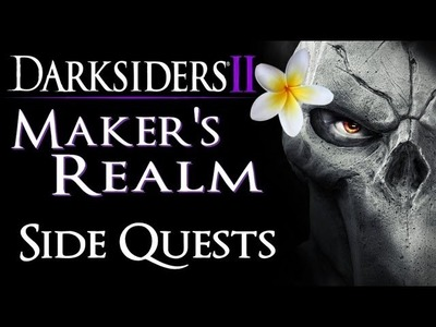 Darksiders 2 - Maker's Realm: Early Side Quests - Shaman's Craft | Maker Warrior