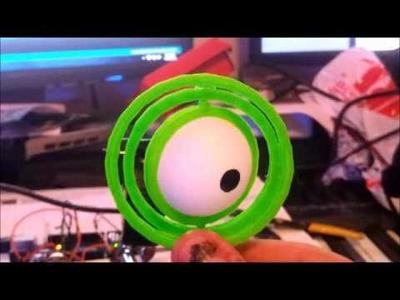 Diy animatronic eye pt.1