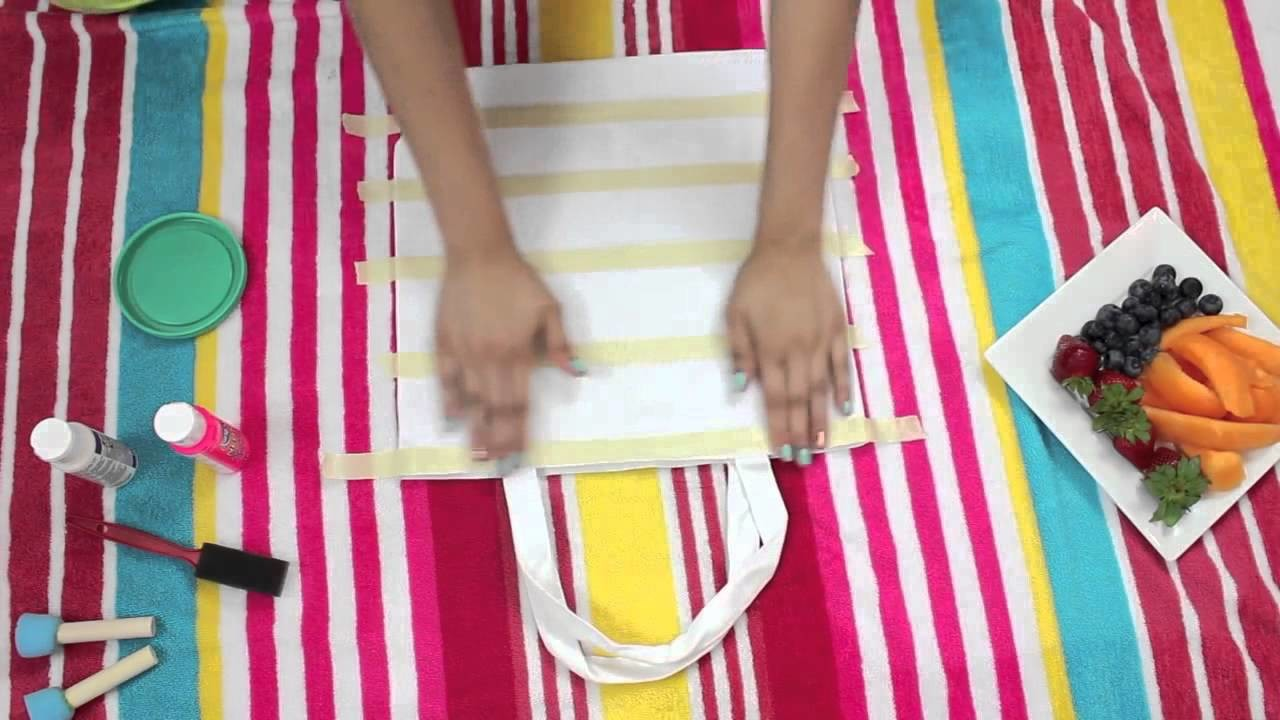 DIY Beach Bags + What's in my Beach bag! BuyorDIY youtube original