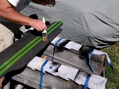 DIY Carbon Fiber Longboard Tutorial- 5 of 7