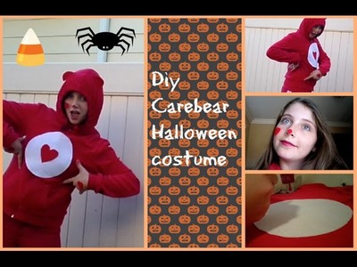 DIY Carebear Halloween costume| Sparklingbeautystars