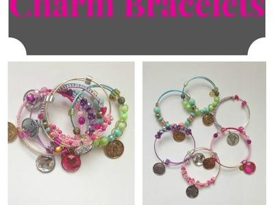 DIY Charm Bracelets (Charmazing) | Owlbeteen