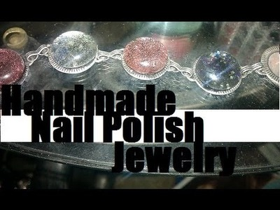 DIY: Handmade Nail Polish Jewelry Design & How To Inspiration