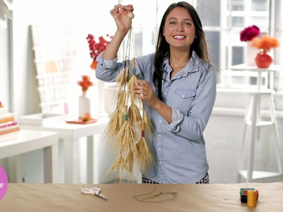 DIY Hanging Wheat Decor - DIY Style - Martha Stewart