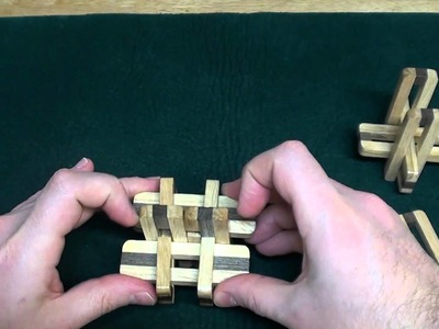 DIY Kongming Wooden Lock Educational Assembly Puzzle Toy Circle Tutorial