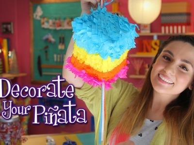 DIY: Make your own Piñata - Idea Lab: Raiza Revelles (English)