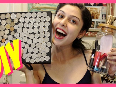 DIY|| Makeup Storage & Organization Ideas!!!