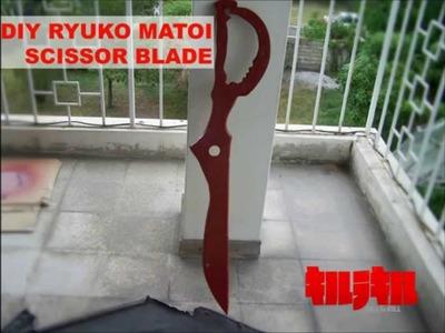 DIY Ryuko Matoi Cosplay: Scissor Blade Tutorial