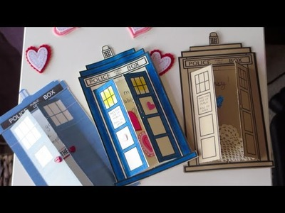 DIY: TARDIS Valentine's Day Cards ♥