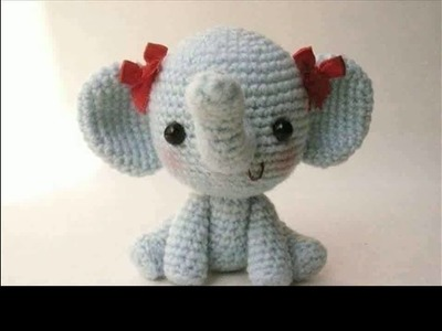 Easy crochet elephant projects