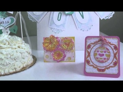 Heart-Themed Crafts from the Scrappy Cat Collection for Sizzix