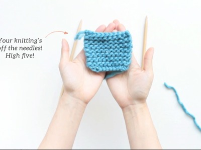 How to Knit - Cast Off