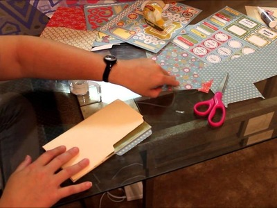 How to Make a 4 Pocket Folder