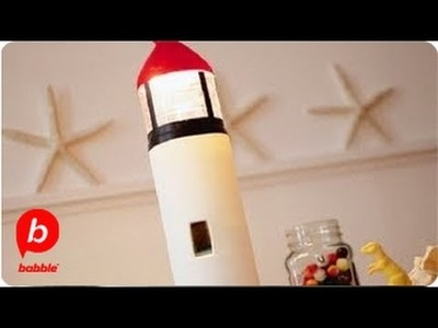 How to MAKE a Lighthouse in a Bottle | Summer | Kitschy Crafts | Babble