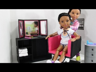 How to Make an 18 inch Doll Salon Styling Chair