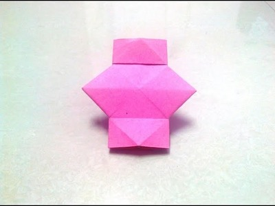 How to make an origami lantern step by step.