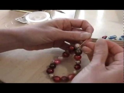How to make (oven baked) clay beads to make a bracelet, jewelry