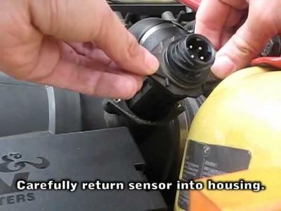 Kajza M3 E36 - DIY cleaning maf. mass airflow sensor m3 e36 bmw luftmassenmesser